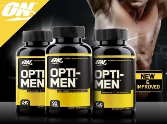 Melhor polivitamínico -Opti Men / Opti Women Optimum Nutrition