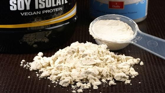 benefícios da proteína isolada de soja