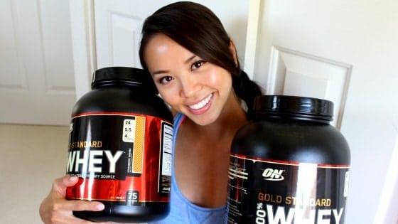 O melhor whey protein feminino