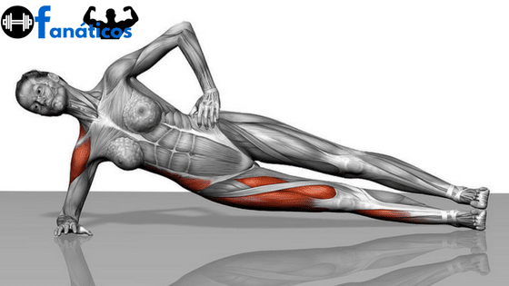 Exercícios para Perder Barriga - Prancha lateral