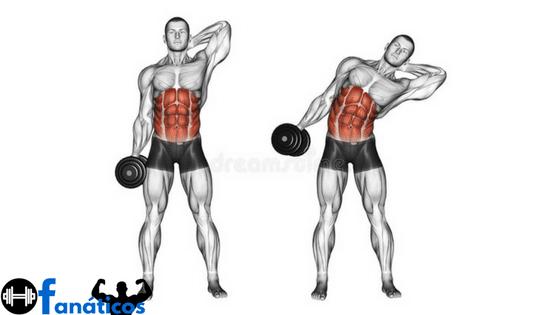 Exercicios para Perder Barriga - Abdominal Lateral em Pé