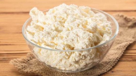 Alimentos que contém proteínas - Queijo Cottage