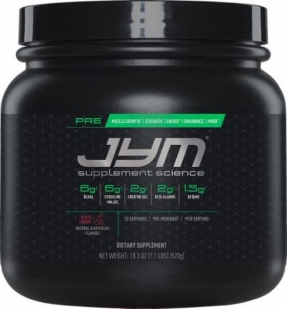 Melhor pre treino importado 2018- pre jym