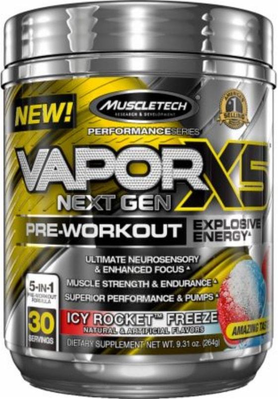 Melhor pre treino importado 2018 -Vapor X5 Next Gen MuscleTech - Nano Vapor