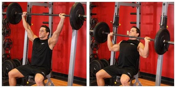 Os melhores 5 exercíciospara ombro - MúsculoDeltoide