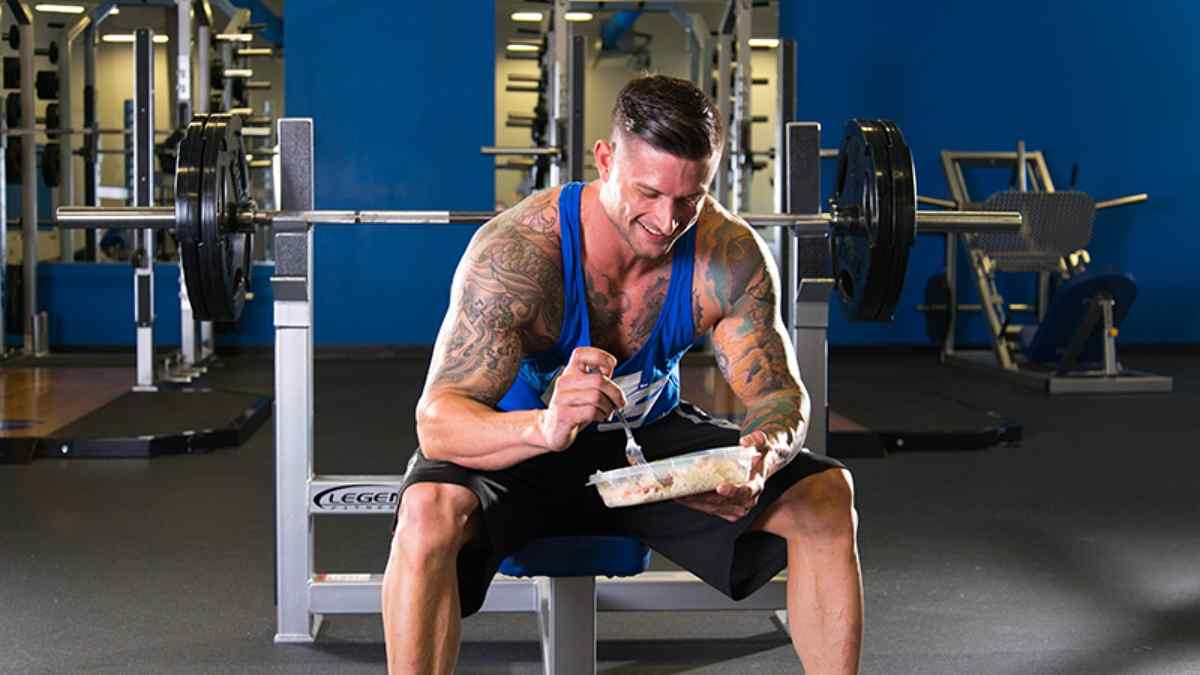 O Que Comer Antes do Treino de Musculação