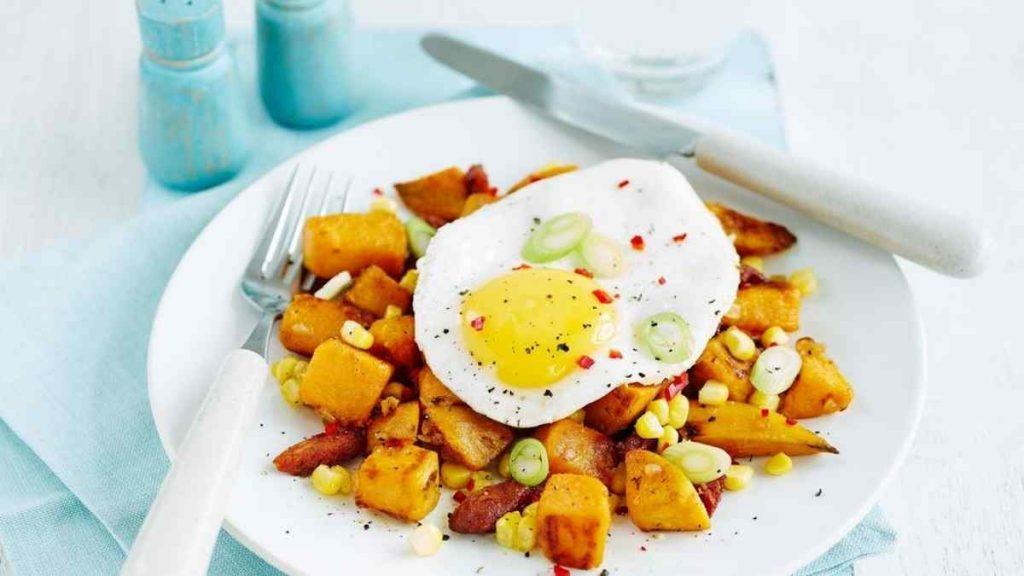 batata doce e ovo musculação