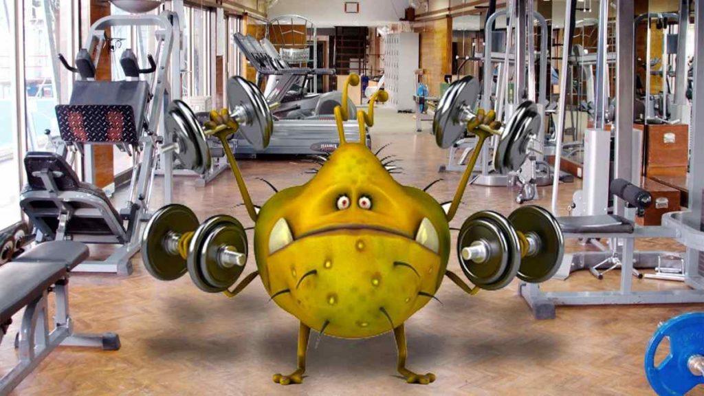 germes na academia como evita pegar doenças