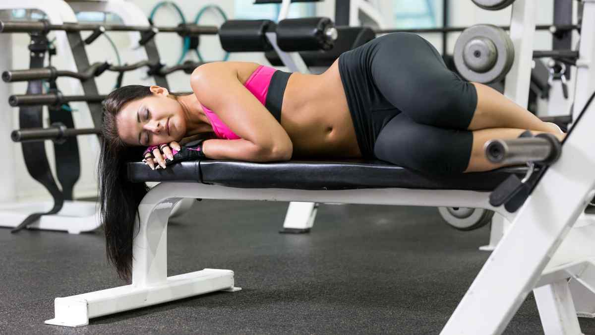 Pode dormir depois de treinar?