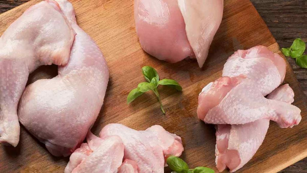 Qual a parte do frango que tem mais proteína?